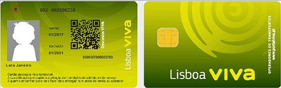 Child Lisboa Viva card image